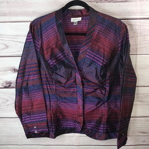 Woman's Coldwater creek blouse multicolor size L